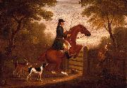 James Seymour Jumping the Gate oil painting artist